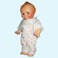 """12"""" Composition Fully Jointed Kewpie Doll, Unmarked"""