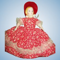 "Godey's Little Lady Doll by Ruth Gibbs, Fancy Pants,""  Booklet, Original Stand"