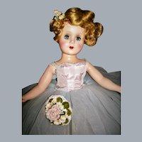 """18"""" Nancy Ann Style Show #2401 Moonlight Mist 1952 HTF"""