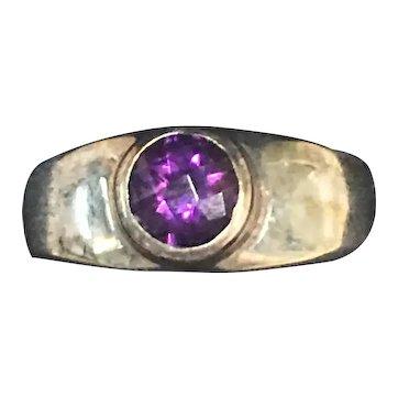Beautiful Vintage Amethyst Ring