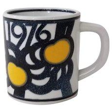 Royal Copenhagen Annual Mug 1976 Small Mug