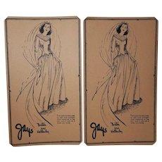 1950's Jay's Boston & Wellesley, Advertising Garment Cards