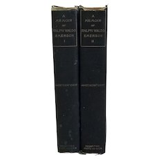 A Memoir of Ralph Waldo Emerson In Two Volumes, James Elliot Cabot, 1887