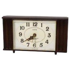 Vintage Westclox Electric Dialite Automatic Alarm Clock