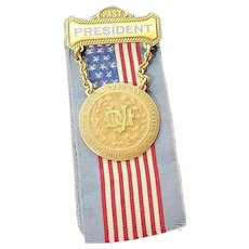 "Daughters Of Union Veterans Of The Civil War Past Presidents Pin 10K J.K. Davison ""A"" R.G.P."