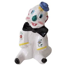 Italian Ceramic Happy Clown Bank