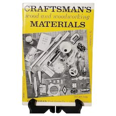 1958 Craftsman's Wood And Woodworking Materials Catalog No. 24