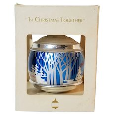 "Hallmark Keepsake Ornament 1983 ""1st Christmas Together"""