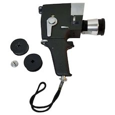 Mansfield Holiday Reflex Zoom ZE-11 Movie Camera, Cinepar Reflex Zoom, Japan
