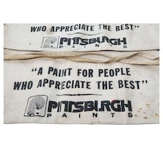 "2 PITTSBURGH PAINTS ""A Paint For People Who Appreciate The Best"" Nail Apron"