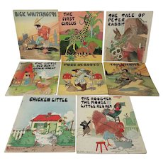 Platt & Munk Co. Children's Classic Story Books, Set of 8