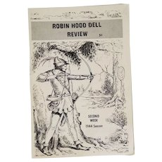 Robin Hood Dell Review, Philadelphia 1944 Second Week