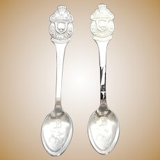 ROLEX Bucherer Lucerne Watches Two Vintage Spoons