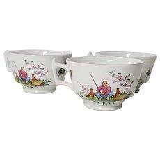 Spode Pearl River Three S3714 Tea Cups