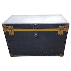 ORENSTEIN Amelia EARHART Designed LARGE Steamer Trunk, Cedar Lined, Mid Century Original, Free Local PIck Up Or Freight