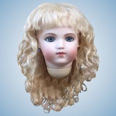 Grace~ Light Blond Mohair Wig with Extensions, Size 8-9