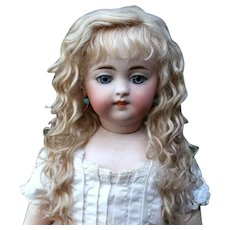 Grace~ Light Ash blond Mohair Wig with Extensions, Size 12-13