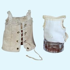 Antique Bebe Corset and Cloth Corset