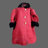 "Winter Coat for 18-20"" Doll"