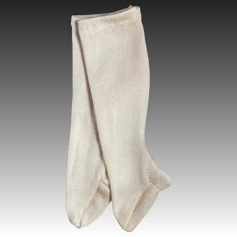 Silk French Fashion Stockings for 12-13 inch doll