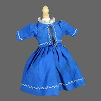 """Antique Dress for 14"""" Doll"""