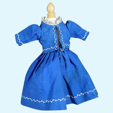"Antique Dress for 14"" Doll"