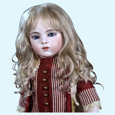 Gabrielle size 12 ~  Medium Blond Mohair Wig with Extensions