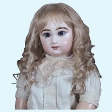 Gabrielle size 15 ~  Medium Blond Mohair Wig with Extensions
