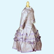 French Fashion Cotton Sheen Ensemble
