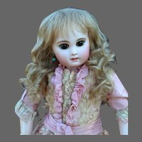 Gabrielle size 11 ~ Dark Blond Mohair Wig with Curls & Extensions