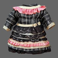 """Small Bebe Dress for a 10-12"""" doll"""