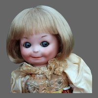 Matilda ~ Blond Dutch Boy Mohair Wig, Size 7-8