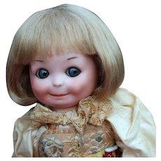 Matilda ~ Blond Dutch Boy Mohair Wig, Size 7-8
