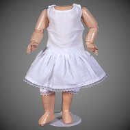 """Matching Cotton Two-Piece Underwear Set for 11""""- 12"""" Doll"""