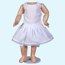 "Matching Cotton Two-Piece Underwear Set for 11""- 12"" Doll"