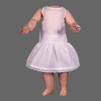 "Matching Cotton Two-Piece Underwear Set for 16-18"" Doll"