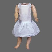 "Matching Cotton Two-Piece Underwear Set for 18-20"" Doll"