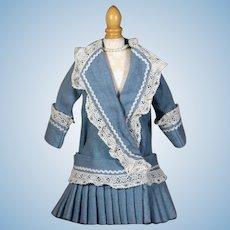 Vintage Cotton Drop Waist Dress