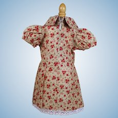 FLower Pritn Cotton Doll Dress