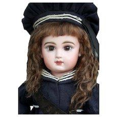 Alice ~ Dark Brown Mohair Wig, Size 10-11