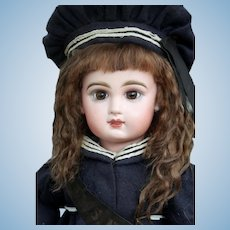 Alice ~ Dark Brown Mohair Wig, Size 10-11