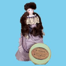 100% Mink ~ Boxed Three Piece Set for French Fashion Doll