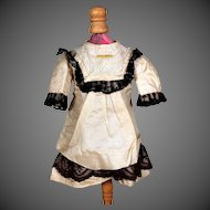 Silk Bebe Dress for 16-17 inch Doll