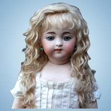 Grace~ Light Ash blond Mohair Wig with Extensions, Size 8-9