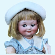 Matilda ~ Blond Dutch Boy Mohair Wig, Size 8-9