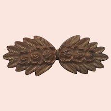 2 Piece Ladies Vintage Hook & Eye Belt Buckle - Sew On