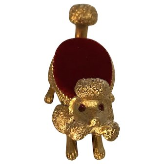 Vintage, French Poodle, Pincushion