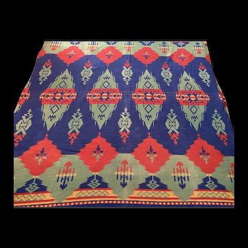 "Vintage 1930's Beacon Blanket Camp Blanket Southwest Beacon 6ft"" X 5ft"" 69"" X 59"" Beautiful Design"