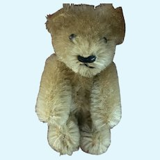 """Rare Antique Miniature Schuco Jointed Tan Cream 2"""" Shuco Bear Made In Germany NM"""