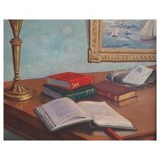 Oil Painting 19th Century Still Life